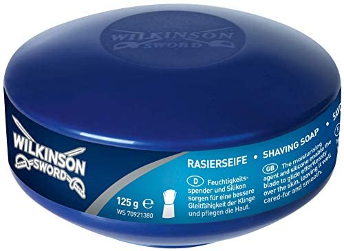 Wilkinson Sword – Préparations à raser – Savon à barbe (125g)