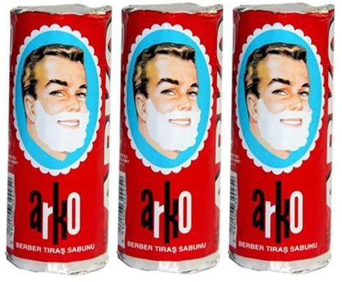 Stick de savon à barbe ARKO idéal pour les hommes aimant le…